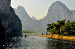 Paisaje 005 de Guilin Imagen de archivo
