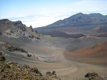 Paisaje de Haleakala sobre las nubes Fotos de archivo libres de regalías