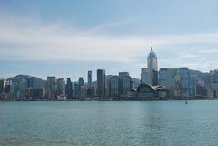 Paisaje de Hong Kong imagen de archivo