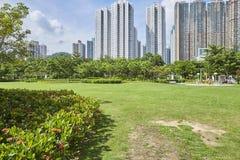 Paisaje de Hong-Kong Imagen de archivo