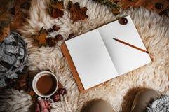 Paisaje de Hygge en otoño Fotografía de archivo libre de regalías