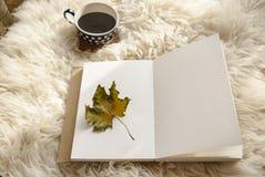 Paisaje de Hygge en otoño Foto de archivo