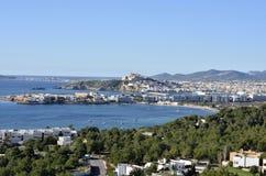 Paisaje de Ibiza Imágenes de archivo libres de regalías