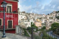 Paisaje de Ibla Sicilia Imagenes de archivo