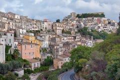 Paisaje de Ibla Sicilia Fotografía de archivo libre de regalías