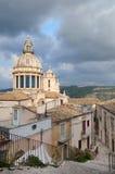 Paisaje de Ibla Sicilia Foto de archivo libre de regalías