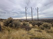 Paisaje de Idaho Foto de archivo