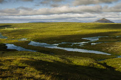 Paisaje de Islandia Imagen de archivo libre de regalías