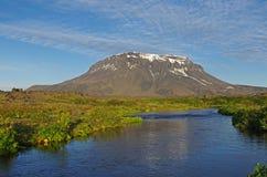 Paisaje de Islandia Imagen de archivo