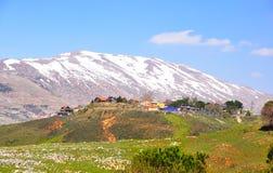 Paisaje de Israel foto de archivo