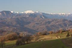Paisaje de Italia Fotos de archivo libres de regalías