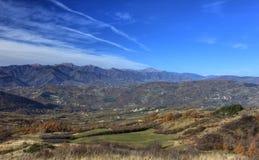 Paisaje de Italia Foto de archivo libre de regalías