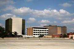 Paisaje de Kansas City Fotografía de archivo libre de regalías