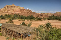 Paisaje de Ksar Ait Ben Haddou Foto de archivo libre de regalías