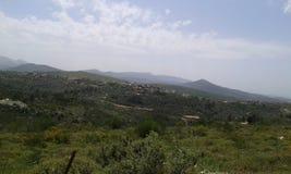 Paisaje de Líbano Imagenes de archivo