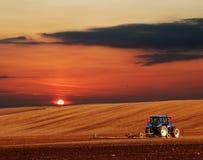 Paisaje de la agricultura Fotos de archivo