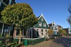 Paisaje de la aldea de Amsterdam Fotografía de archivo