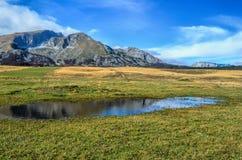Paisaje de la alta montaña Fotografía de archivo