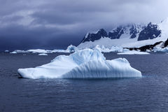 Paisaje de la Antártida Fotografía de archivo libre de regalías