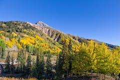 Paisaje de la caída de Colorado Imagen de archivo libre de regalías