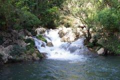 Paisaje de la cascada Imagen de archivo libre de regalías