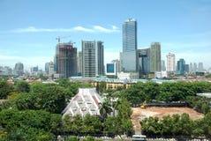 Paisaje de la ciudad Foto de archivo