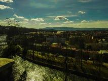 Paisaje de la ciudad Fotos de archivo