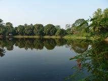 Paisaje de la ciudad Bangladesh de Dacca fotografía de archivo libre de regalías