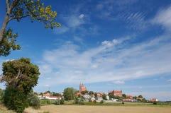 Paisaje de la ciudad de Polonia Imagen de archivo
