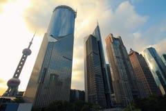 Paisaje de la ciudad de Shangai Lujiazui Foto de archivo