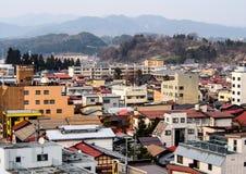 Paisaje de la ciudad de Takayama, Japón 3 Foto de archivo