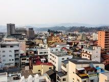 Paisaje de la ciudad de Takayama, Japón 2 Fotos de archivo libres de regalías