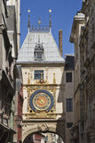 Paisaje de la ciudad en Normandía Imágenes de archivo libres de regalías
