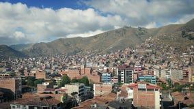 Paisaje de la ciudad en Suramérica metrajes