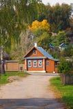 Paisaje de la ciudad de Plyos en la región de Ivanovo en Rusia foto de archivo libre de regalías