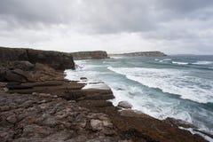 Paisaje de la costa Fotografía de archivo libre de regalías