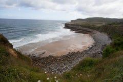 Paisaje de la costa Imagen de archivo libre de regalías