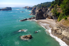Paisaje de la costa de Oregon Foto de archivo