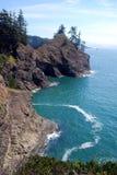 Paisaje de la costa de Oregon Fotos de archivo libres de regalías