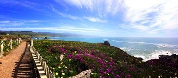 Paisaje de la Costa del Pacífico Fotos de archivo