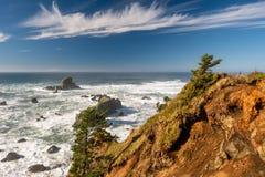 Paisaje de la Costa del Pacífico de los E.E.U.U., Oregon foto de archivo libre de regalías
