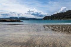 Paisaje de la costa gallega Imagen de archivo libre de regalías