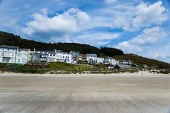 Paisaje de la costa gallega Imagenes de archivo