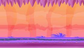 Paisaje de la fantasía del juego Foto de archivo