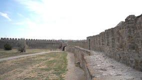 Paisaje de la fortaleza de Akkerman, Bilhorod-Dnistrovskyi, Ucrania metrajes