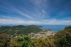 Paisaje de la isla Fotografía de archivo libre de regalías