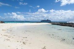 Paisaje de la isla caribeña Fotografía de archivo libre de regalías
