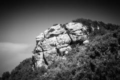 Paisaje de la isla de Corfú, Grecia imagen de archivo