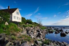 Paisaje de la isla de Bornholms Foto de archivo
