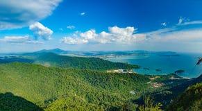 Paisaje de la isla de Langkawi, Malasia Foto de archivo